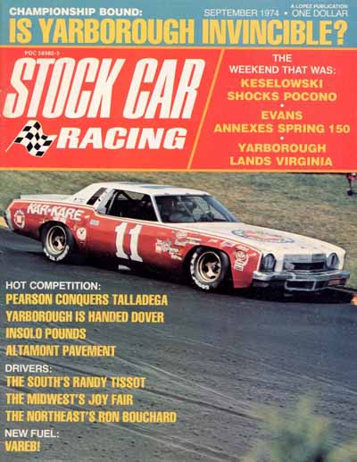 Stock Car Racing Magazine April 1976, IROC Camaro Circus: Saga of Black Beauty